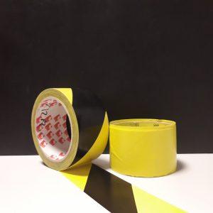 Nastro per segnaletica giallo e nero