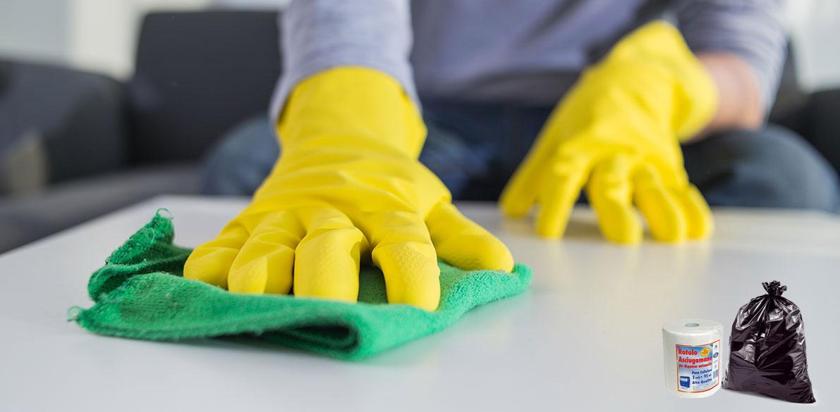 Linea igiene e detergenti
